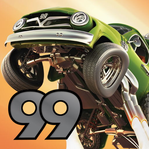 Stunt Car Racing 99 Tracks FREE app icon